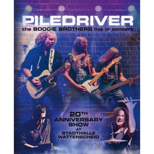 The Boogie Brothers Live In Concert - Piledriver CD2