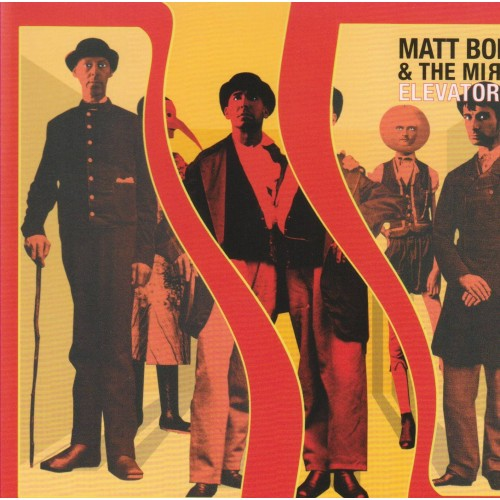 Elevator Ride - Matt Boroff & The Mirrors CD DIG