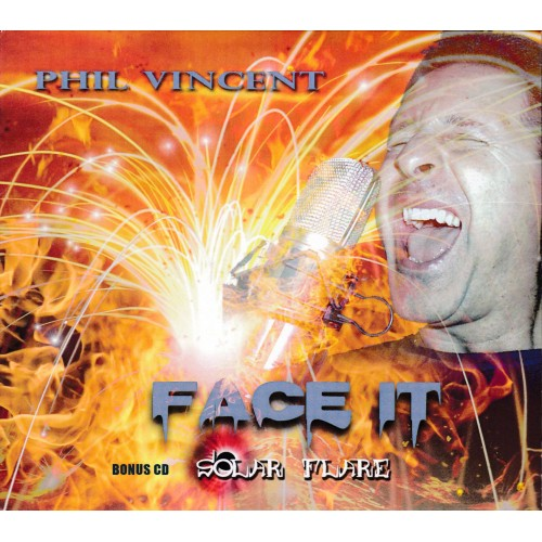Face It / Solar Flare - Phil Vincent CD DIG