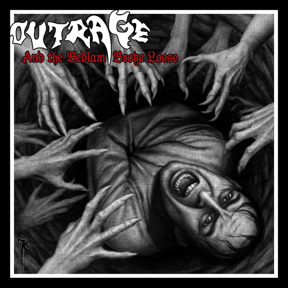 And The Bedlam Broke Loose - Outrage CD