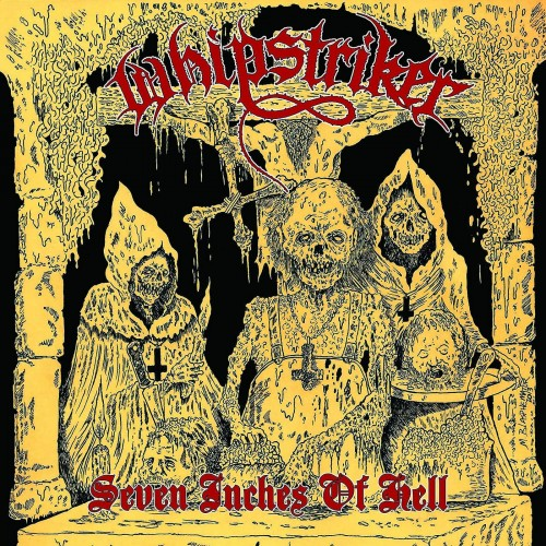 Seven Inches Of Hell - WHIPSTRIKER LP2