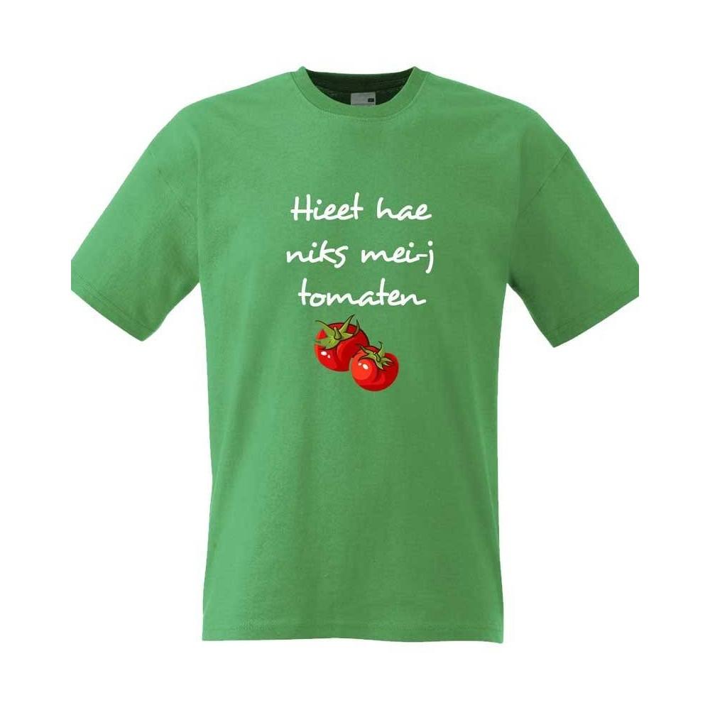 Hieet hae niks mei-j tomaten -