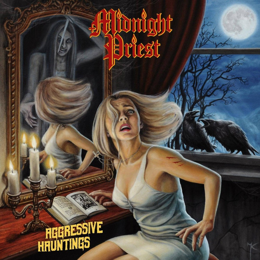 Aggressive Hauntings - midnight priest cd