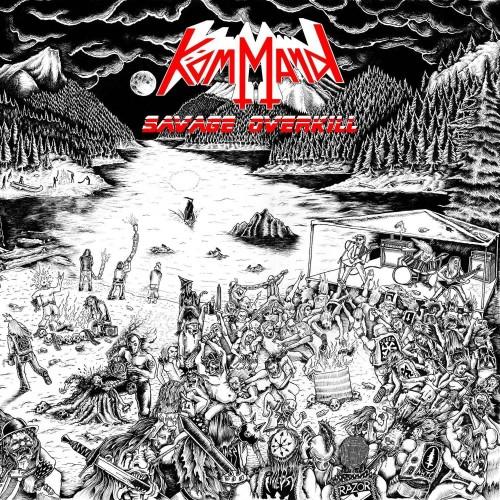 Savage Overkill - kömmand cd