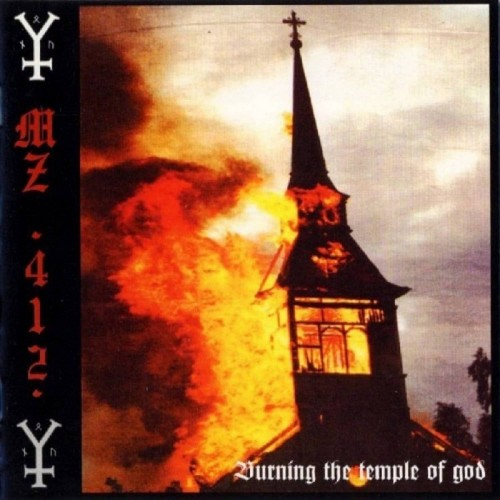 Burning The Temple Of God - Mz.412 LP