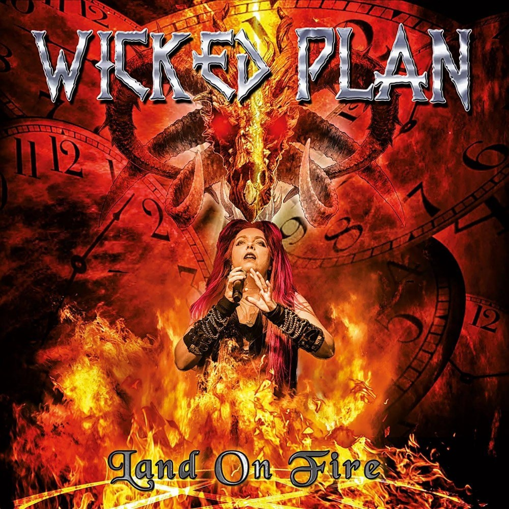 Land On Fire - wicked plan cd