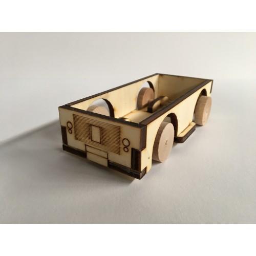 Continium car -  building blocks