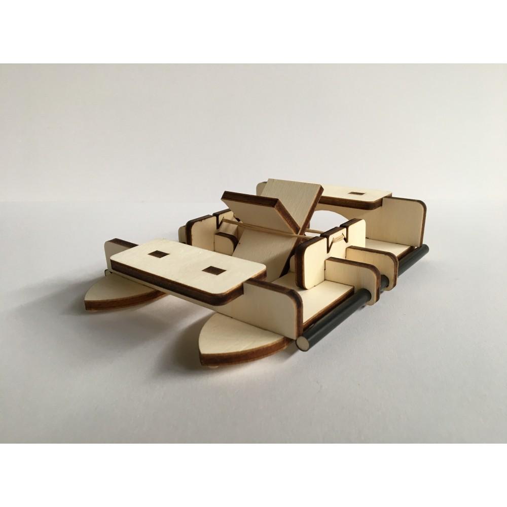 Paddle Boat -  building blocks