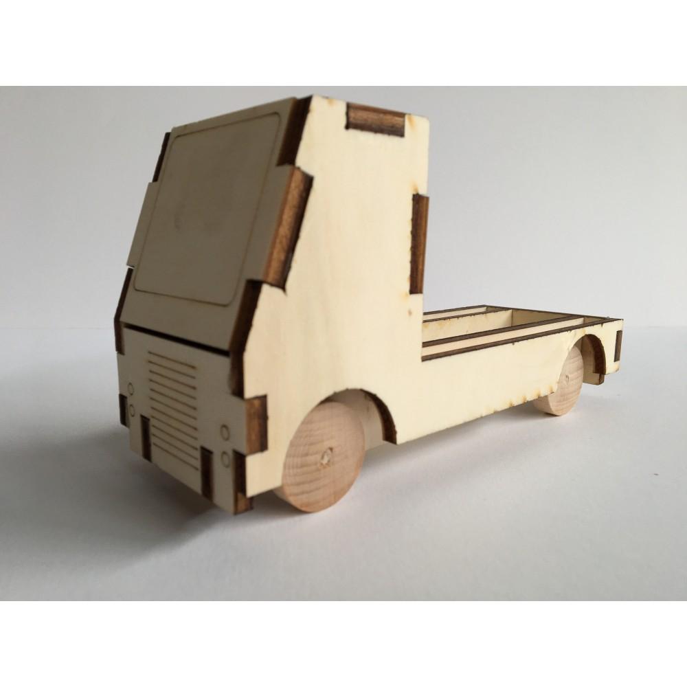 Verrassingswagen -  bouwpakket
