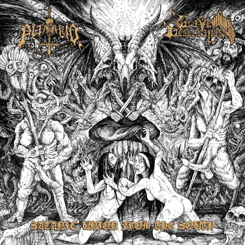 Satanic Union From The South - putrid/grave desecration lp