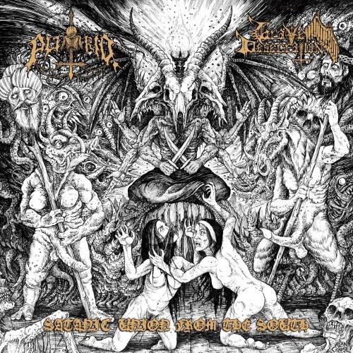 Satanic Union From The South-putrid/grave desecration-lp