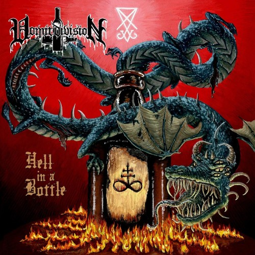 Hell in a Bottle - vomit division cd