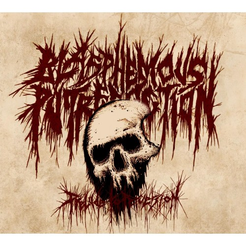 Prelude To Perversion - blasphemous putrefaction cd dig