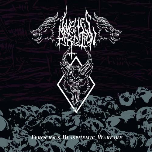 Ferocious Blasphemic Warfare-wolves of perdition-cd