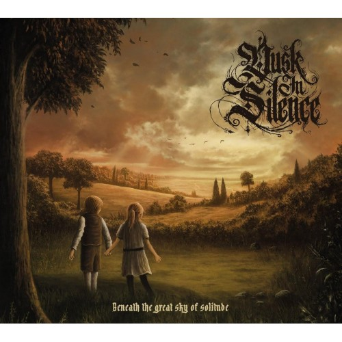 Beneath the Great Sky of Solitude-dusk in silence-cd dig