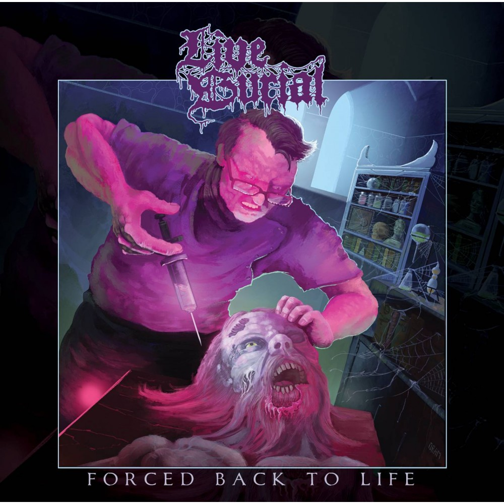 Forced Back To Life - Live Burial CD