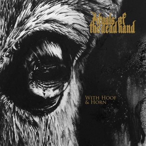 With Hoof And Horn-rituals of the dead hand-lp