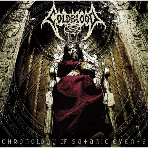 Chronology Of Satanic Events - Coldblood CD
