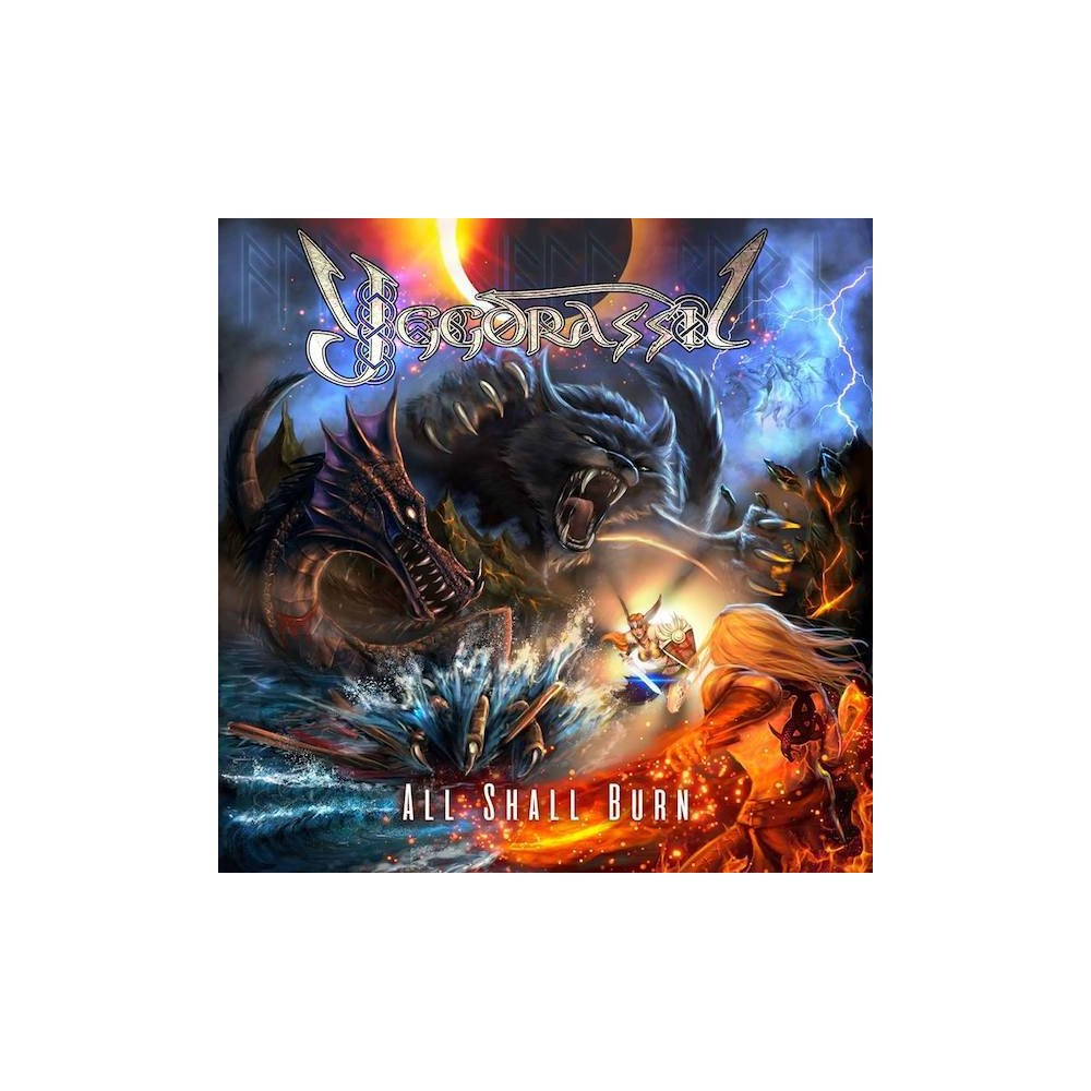 All Shall Burn - Yggdrassil CD