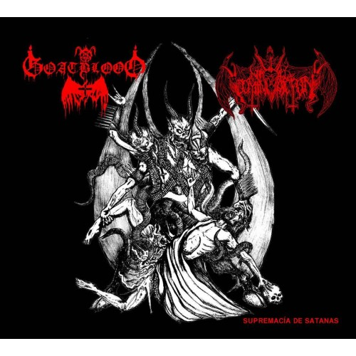 "Nihil Domination ""Supremac - Goatblood CD DIG"