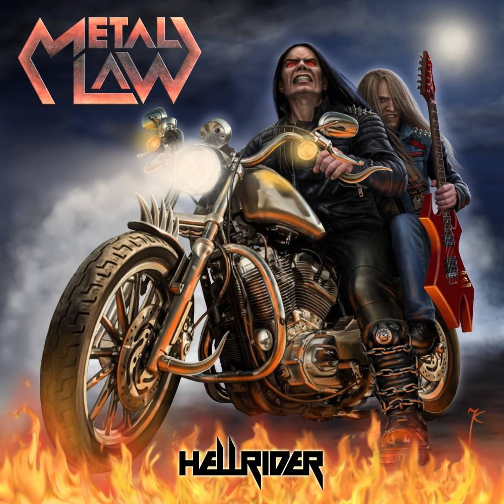 Hellrider - Metal Law CD