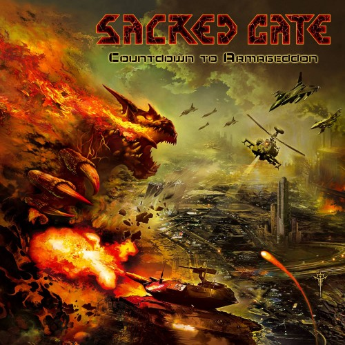 Countdown To Armageddon - Sacred Gate CD