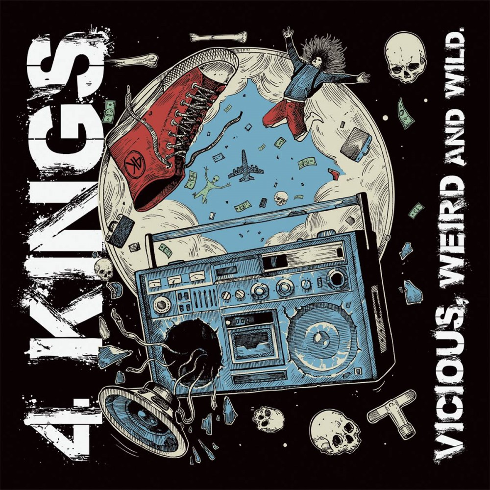Vicious, Weird And Wild - 4kings CD
