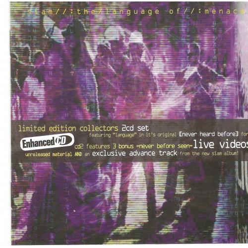 The Language Of Menace - Siam CD2