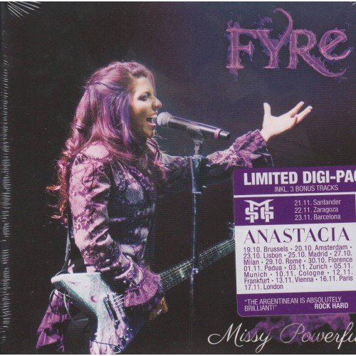 Missy Powerful - Fyre CD DIG