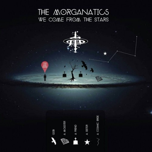 We Come From The Stars - The Morganatics CD DIG