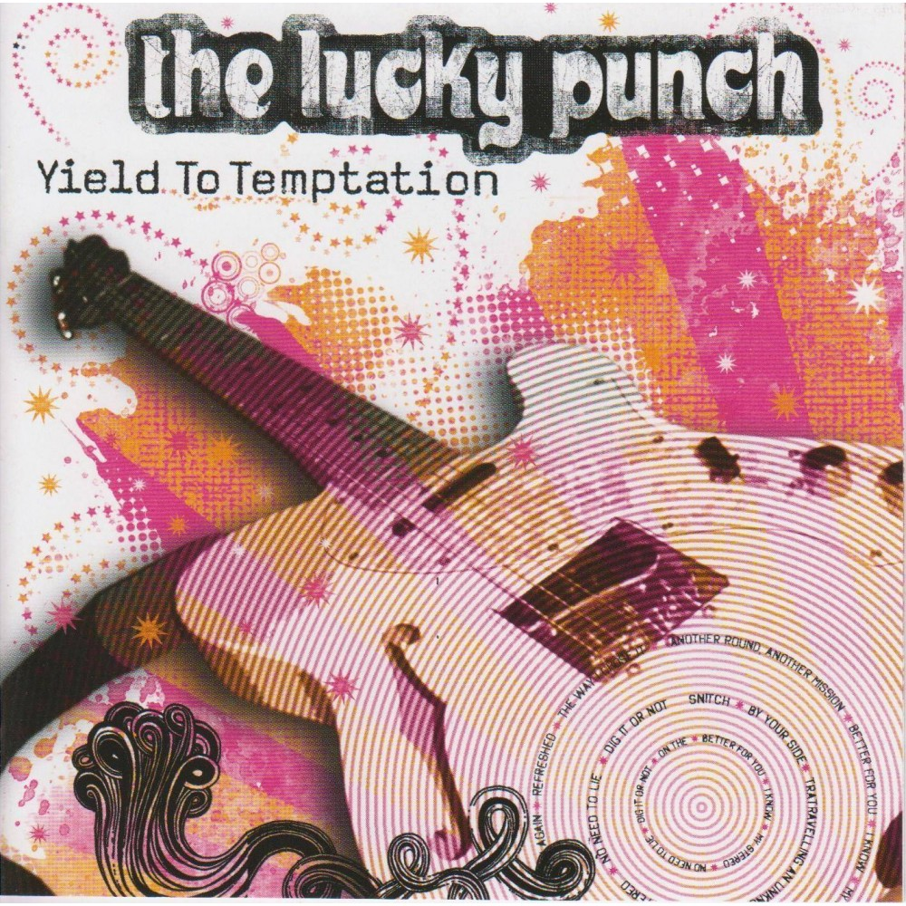 Yield To Temptation - Lucky Punch CD