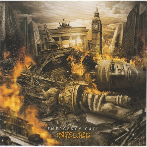 Infected - Emergency Gate CD